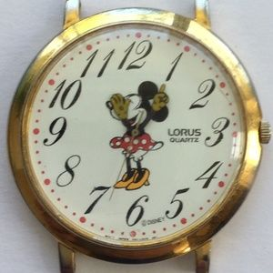 Disney MINNIE MOUSE LORUS HANDS WATCH V501-0A20 RO